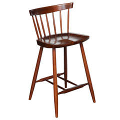 Rare Four-Legged High Chair by George Nakashima
