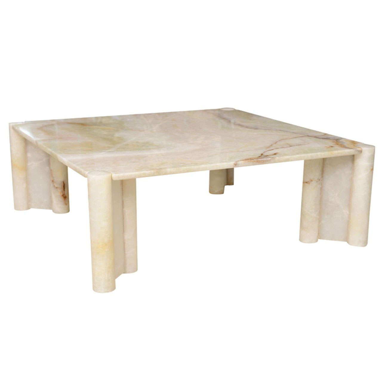 Rare Gae Aulenti Onyx Jumbo Low Table Italy 1970s For Sale At