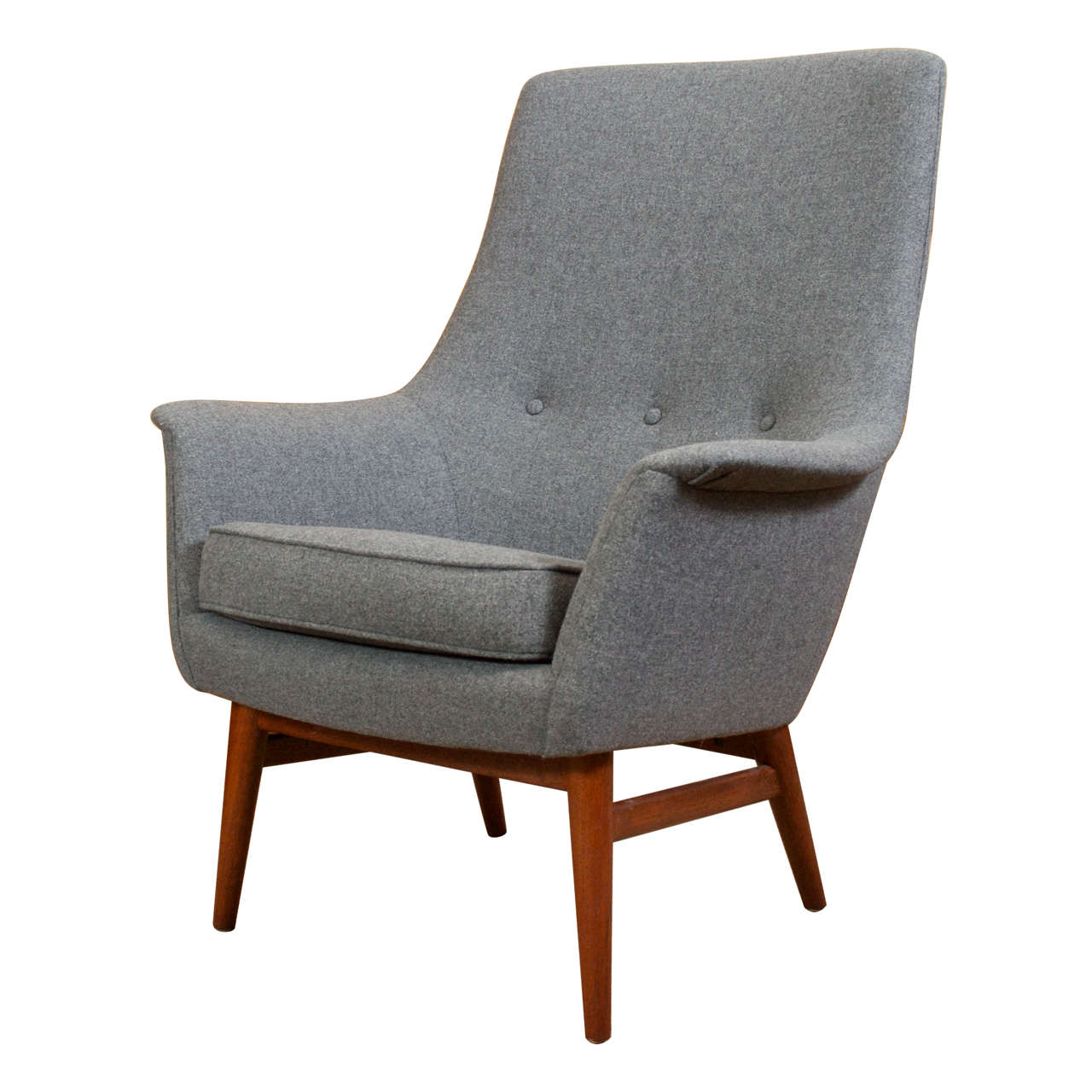 Danish modern club chair the image kid has it - Scandinavian chair ...