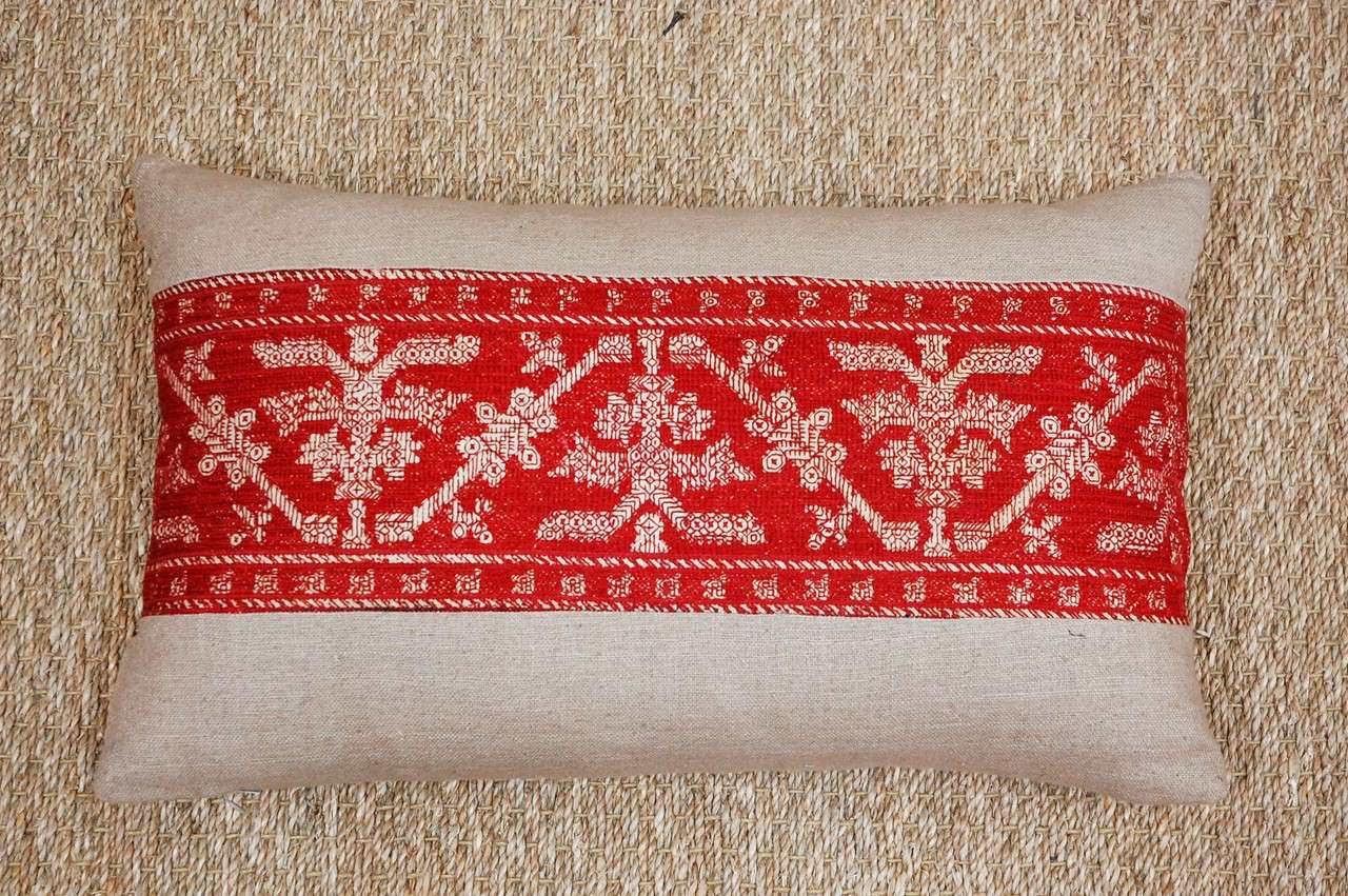 Antique Azemmour Moroccan Embroidered Pillows 4