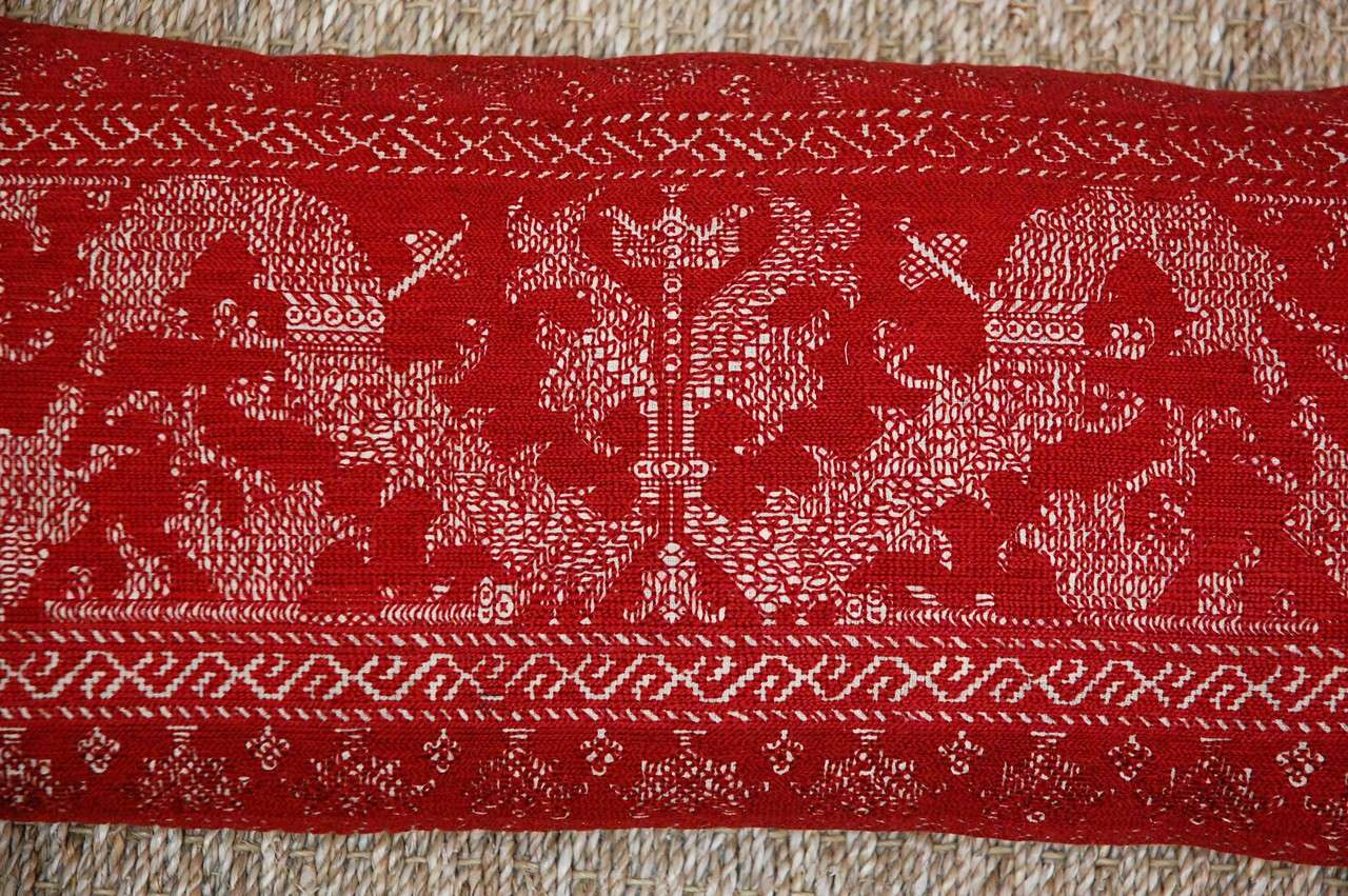 Antique Azemmour Moroccan Embroidered Pillows 6