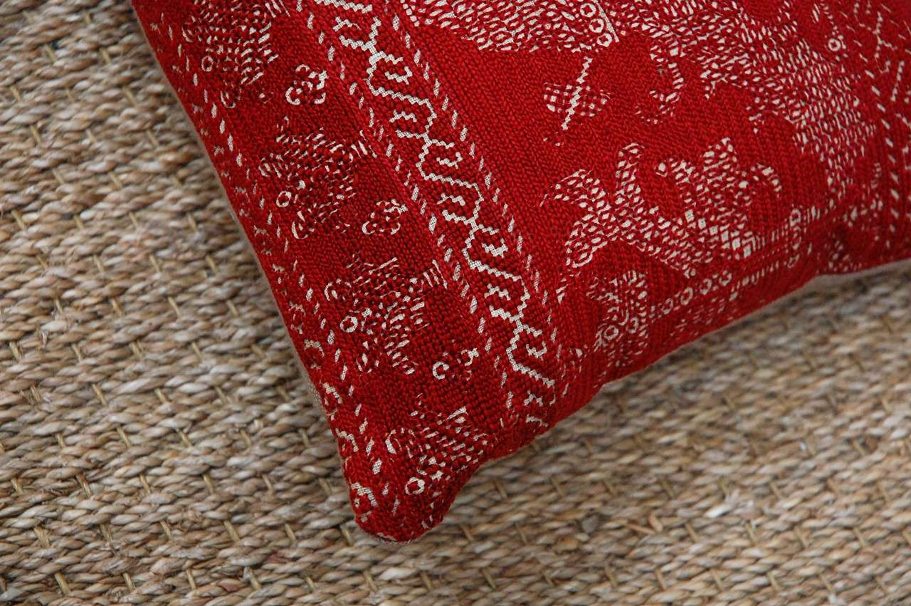 Antique Azemmour Moroccan Embroidered Pillows 7