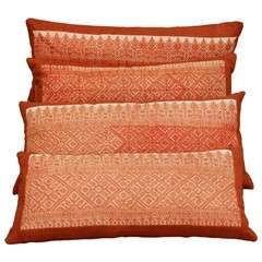 Antique Fez Moroccan Embroidery Pillows