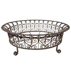 Large Iron Planter Frame