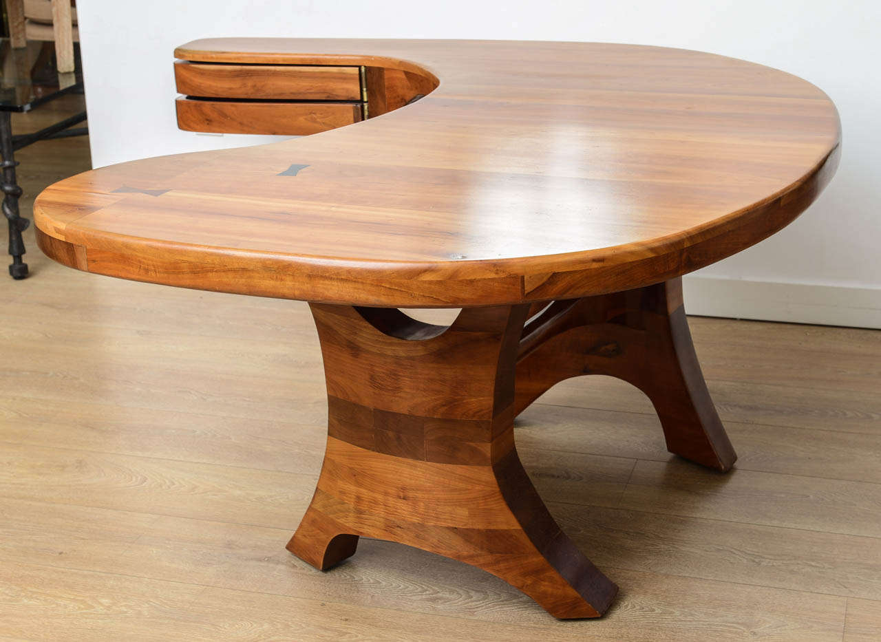 unique american studio craft movement desk at 1stdibs