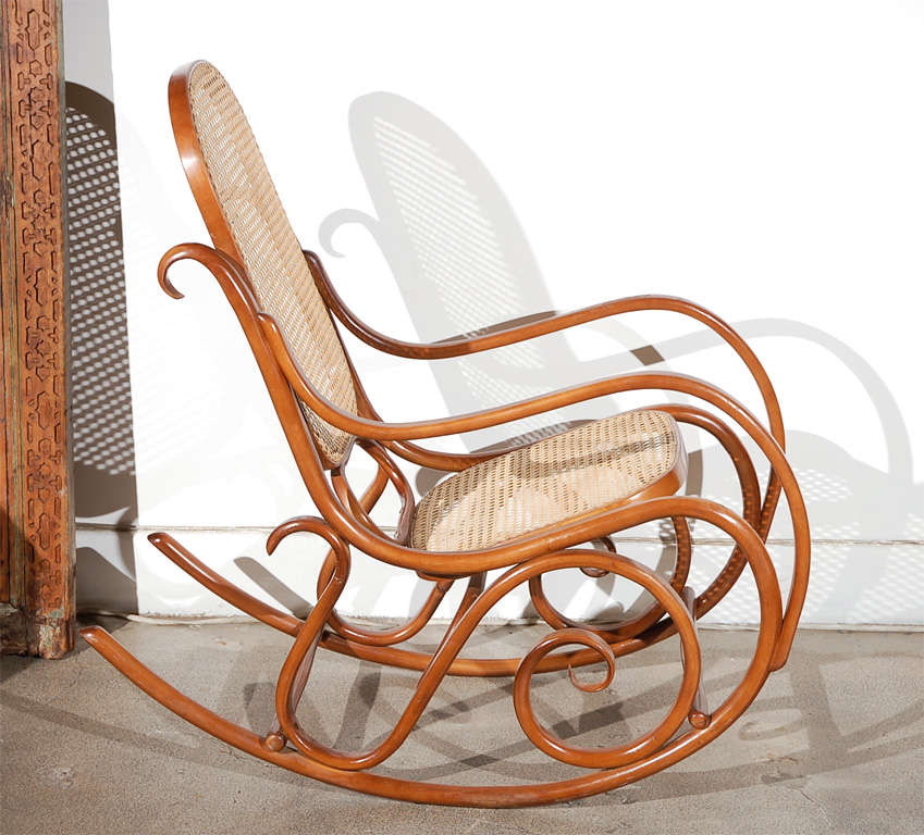 this pair of thonet bentwood rocking chairs is no longer available