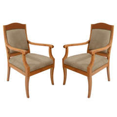 Pair of Jugend Stil Salon Chairs