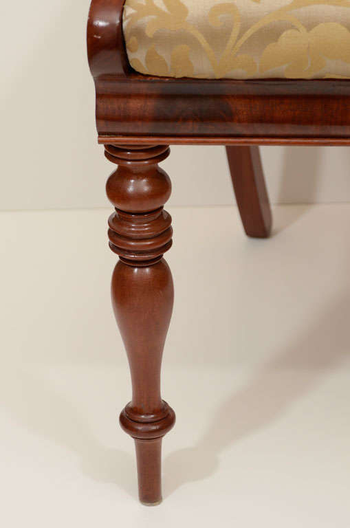 Set of Six Mahogany Dining Chairs For Sale 2