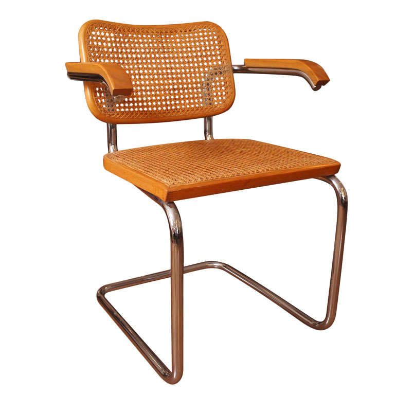 Caned Chair By Marcel Breuer