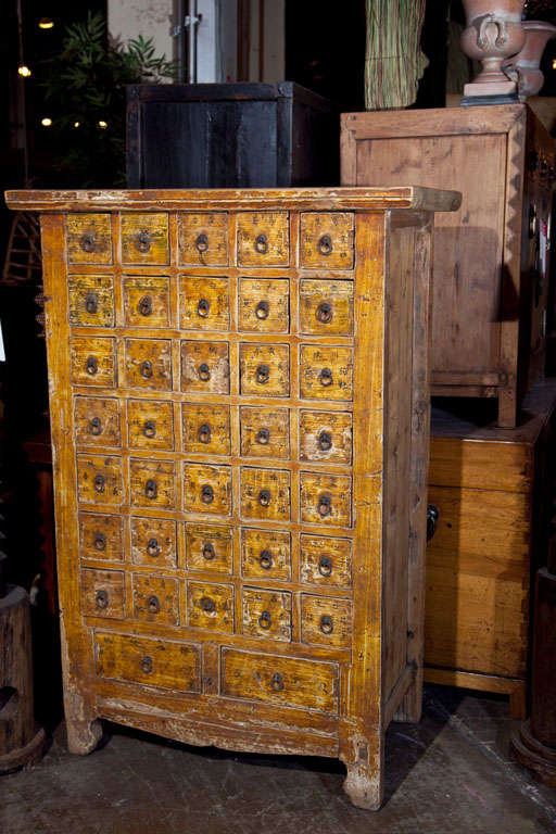 Chinese apothecary cabinet late 19th century at 1stdibs for Chinese furniture norwalk ct