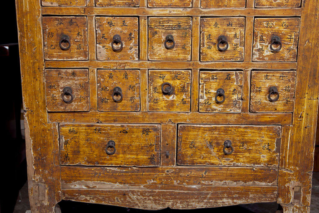 Chinese apothecary cabinet, late 19th century 4