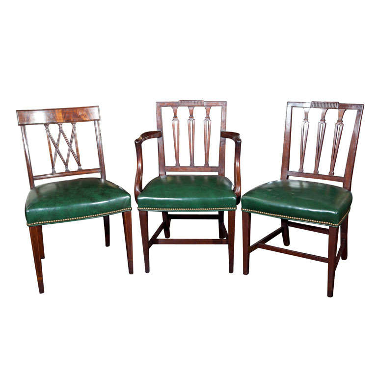 Antique hepplewhite style chairs at stdibs