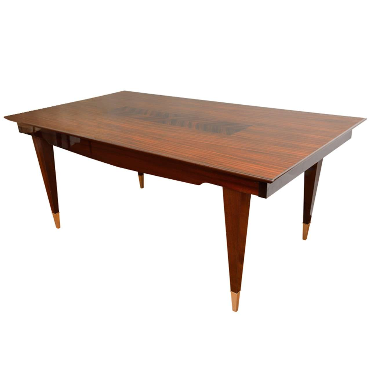 French art deco dining table saturday sale for sale at 1stdibs for Artistic dining room tables