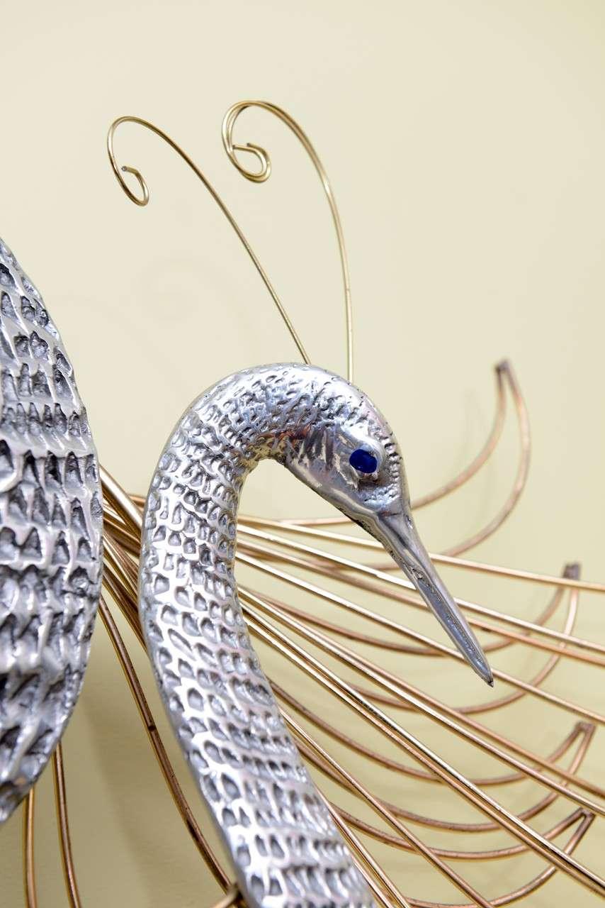 C. Jeré Birds of Paradise Wall Sculpture For Sale 2