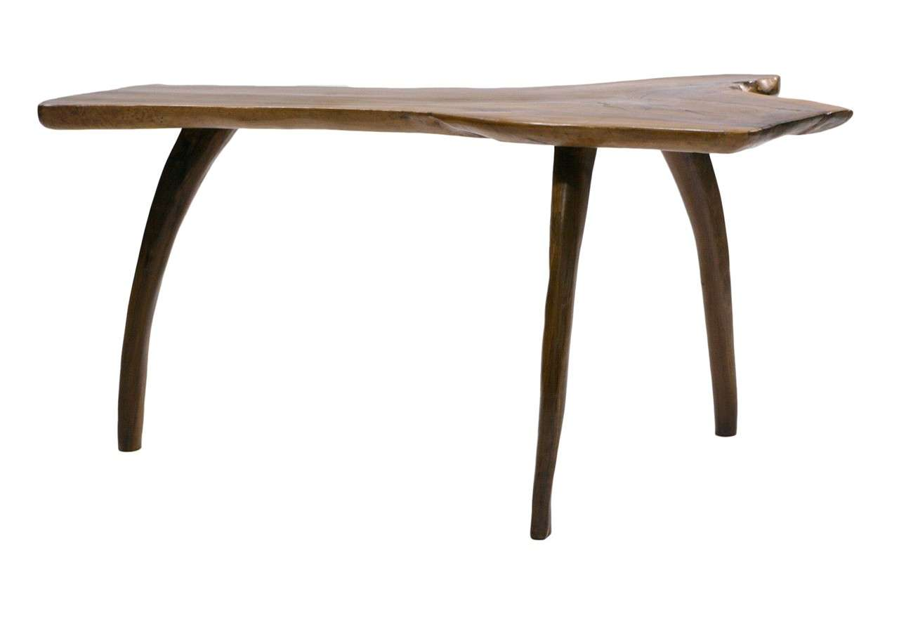 A Nice Deco Coffee Table From Solid Walnut At 1stdibs