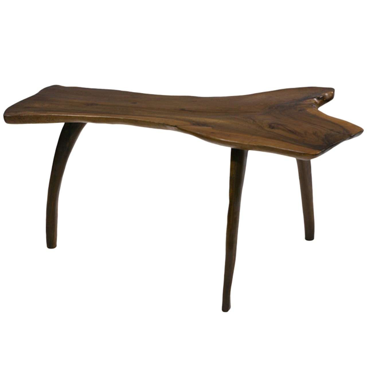 A nice deco coffee table from solid walnut at 1stdibs for Furniture northgate