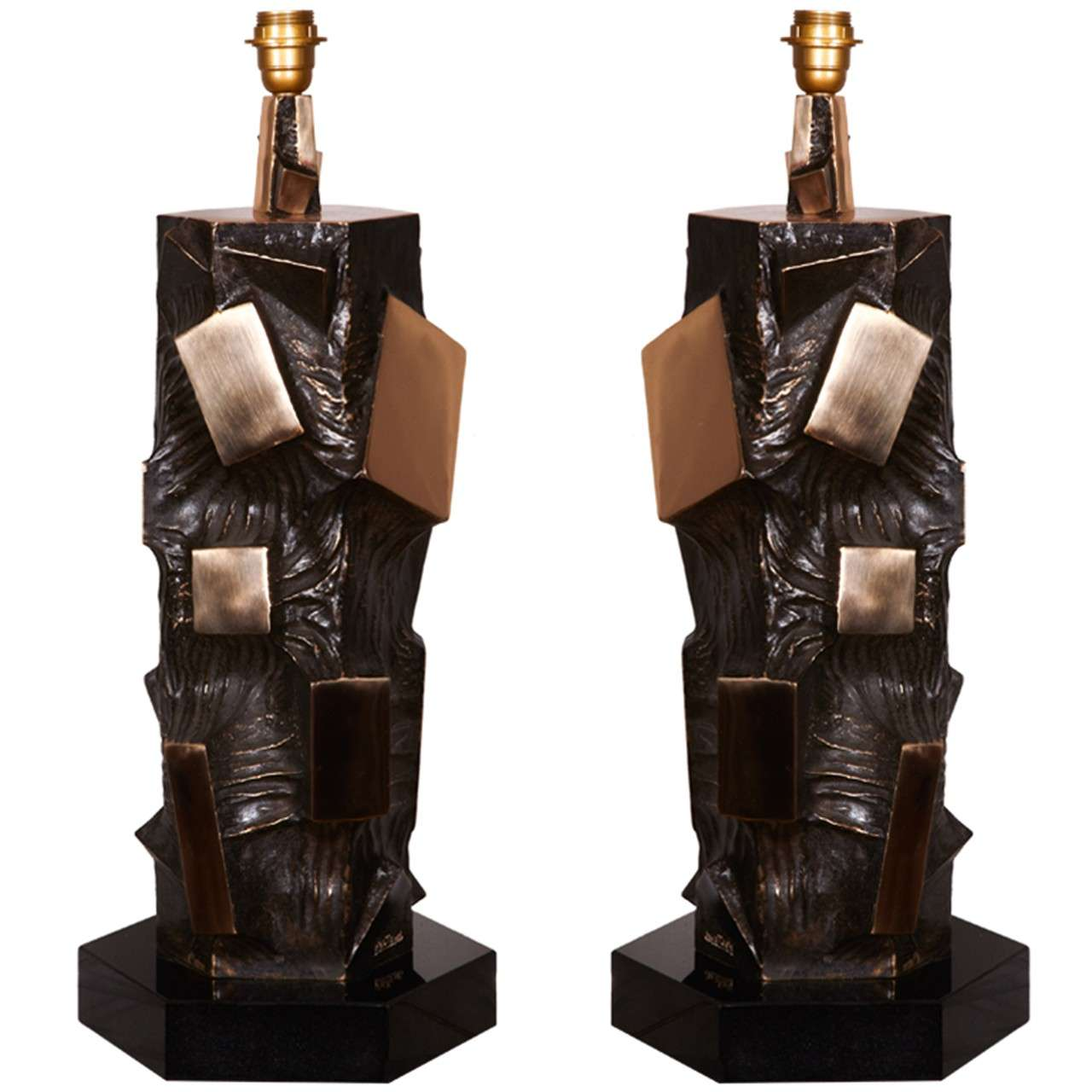 Awesome Pair of Lamps by Martens