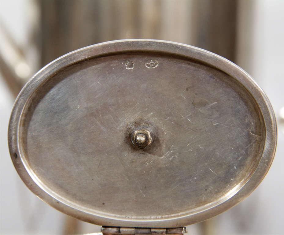 Fine & Rare Art Deco Silver Tea Service 3