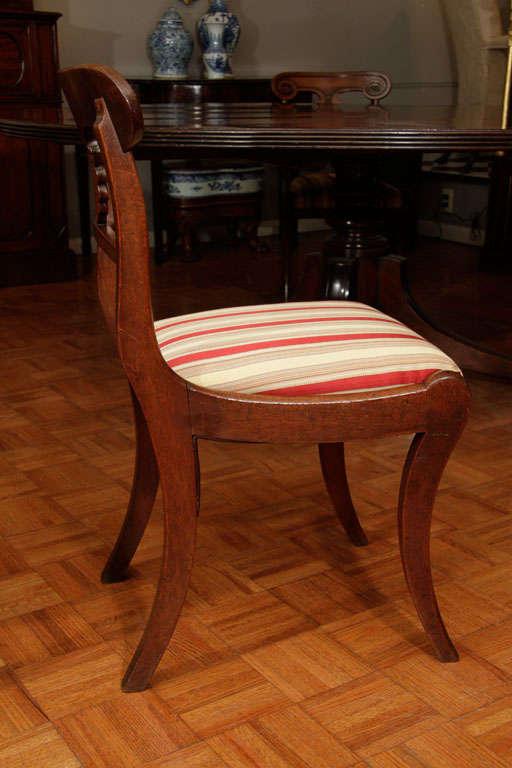 set of 10 regency mahogany dining chairs at 1stdibs