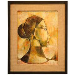 Luis Toledo(1929-2007) Oil On Canvas