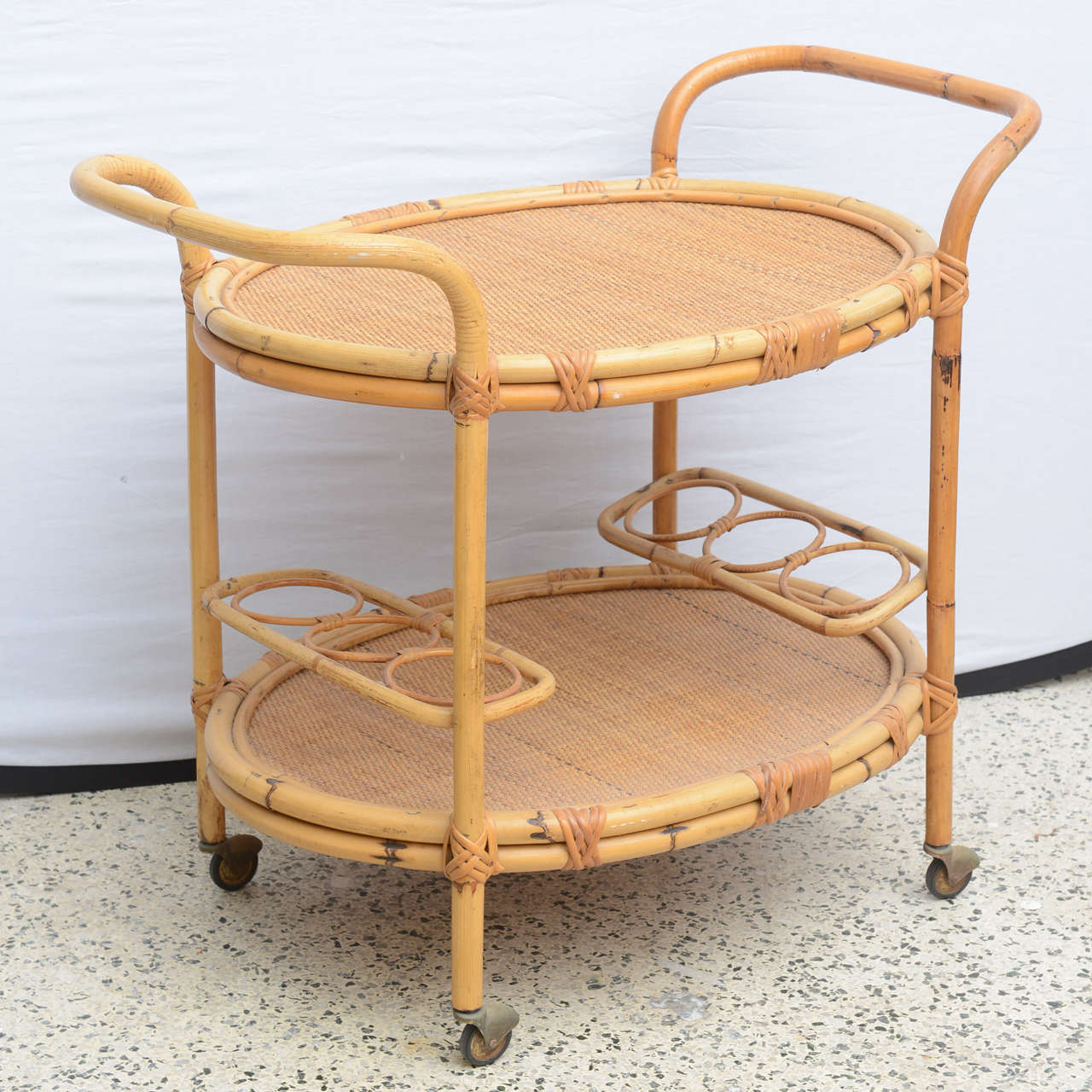 Bamboo Bar Cart, USA 1965 3