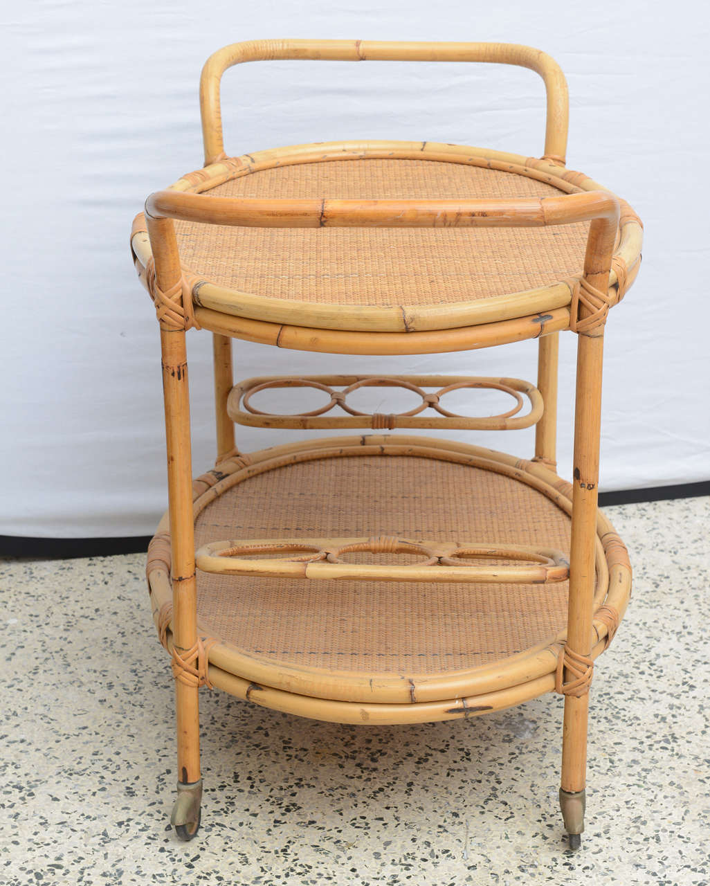 Bamboo Bar Cart, USA 1965 7