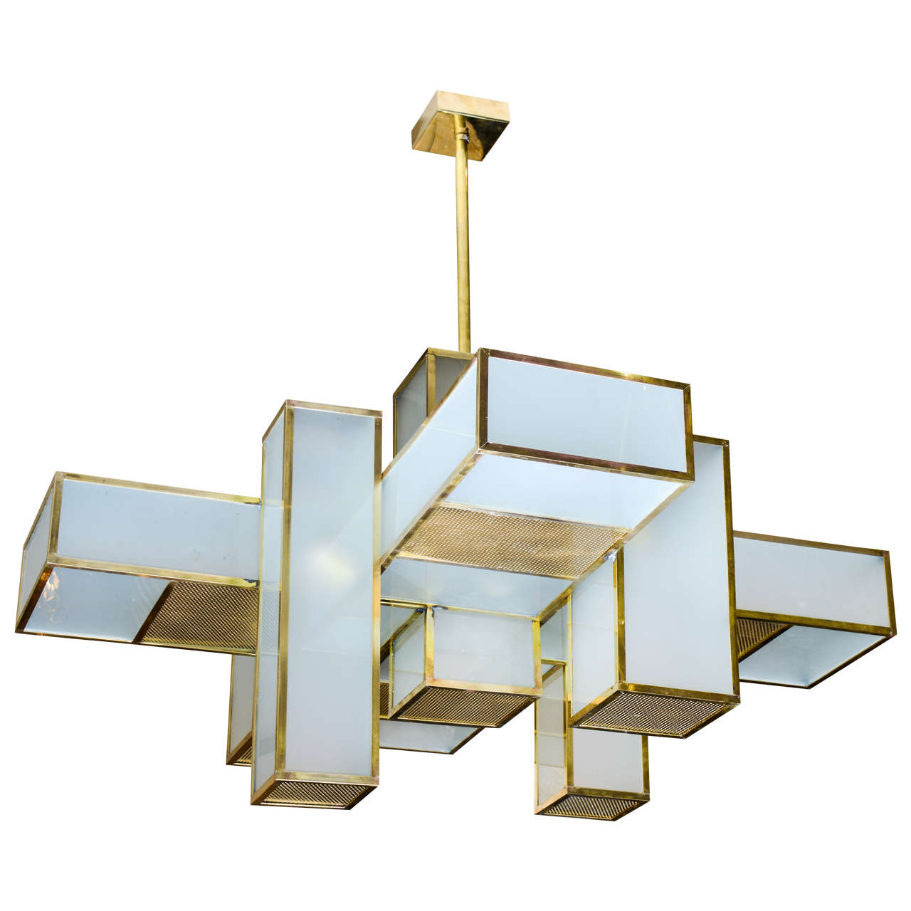 1960s Chandelier Attributed To Jean Perzel For Sale At 1stdibs