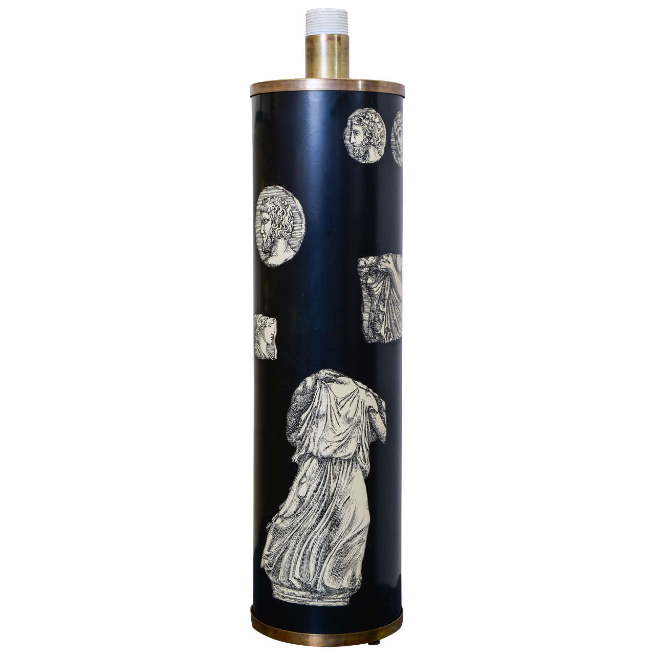 Tall Lamp by Piero Fornasetti