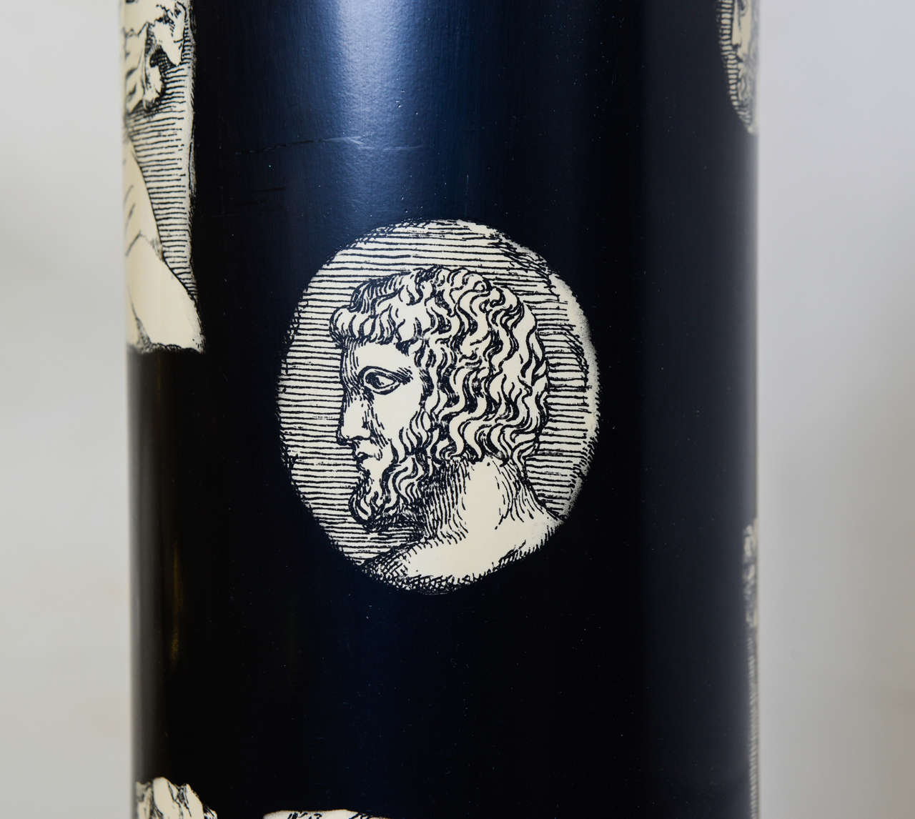 Tall Lamp by Piero Fornasetti For Sale 1