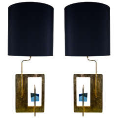 Pair of Modern Lamps