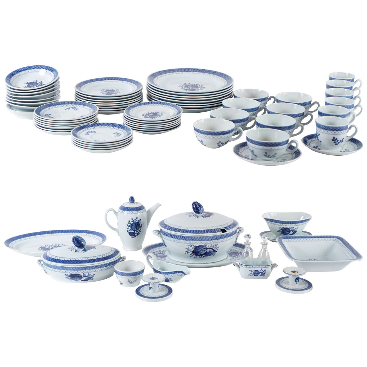 royal copenhagen dinnerware service purchased at georg jensen nyc. Black Bedroom Furniture Sets. Home Design Ideas