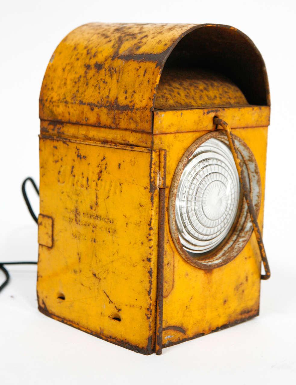 Vintage road work lanterns
