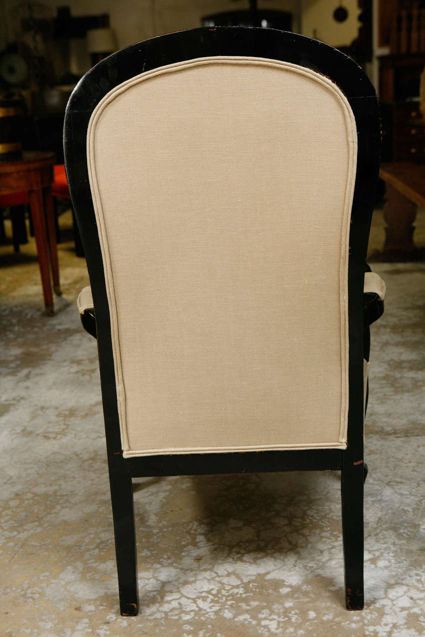 19th Century Pair of Ebonized Chairs 7