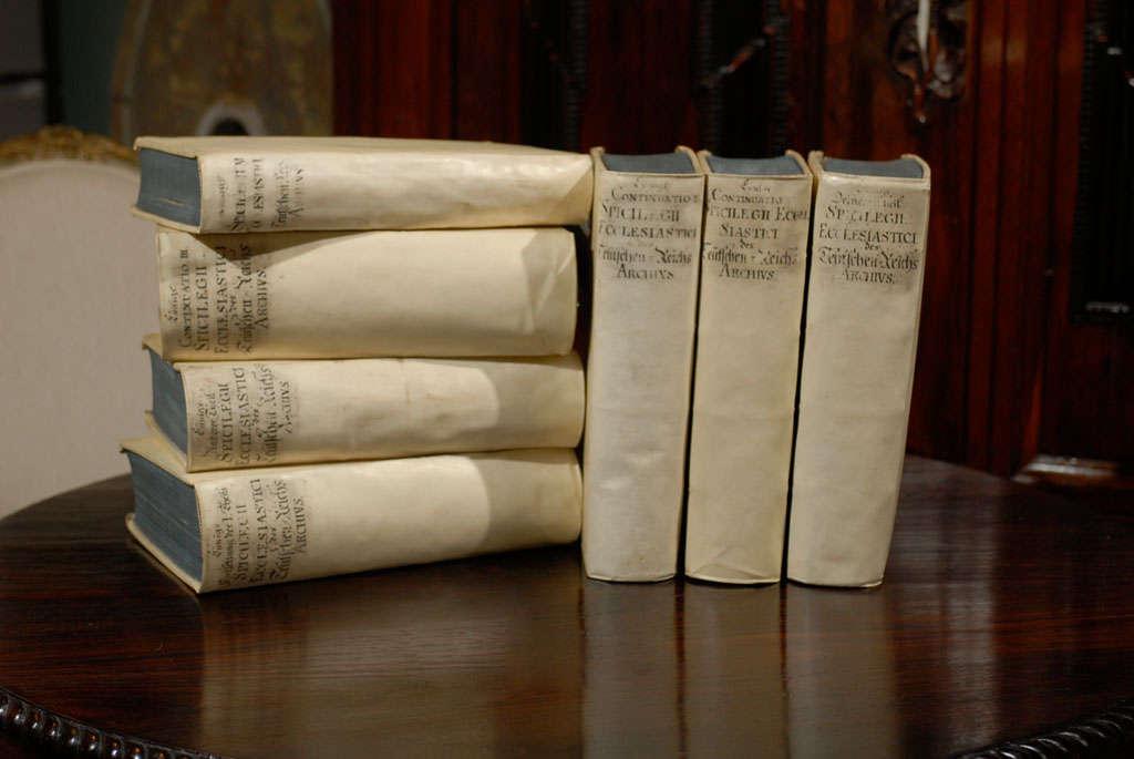 Set of  7  Vellum Books image 10