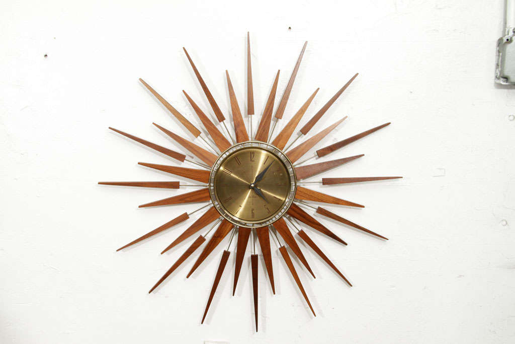 Sunburst Clock image 6