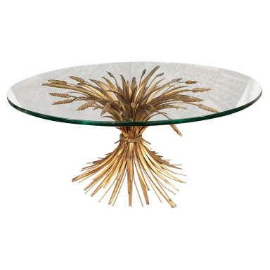 Classic Sheaf of Wheat Coffee Table