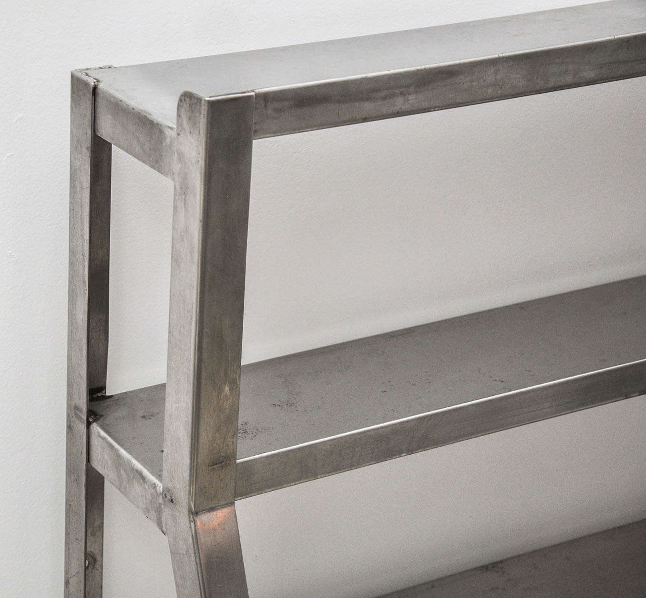 Stainless Steel Restaurant Shelving At 1stdibs