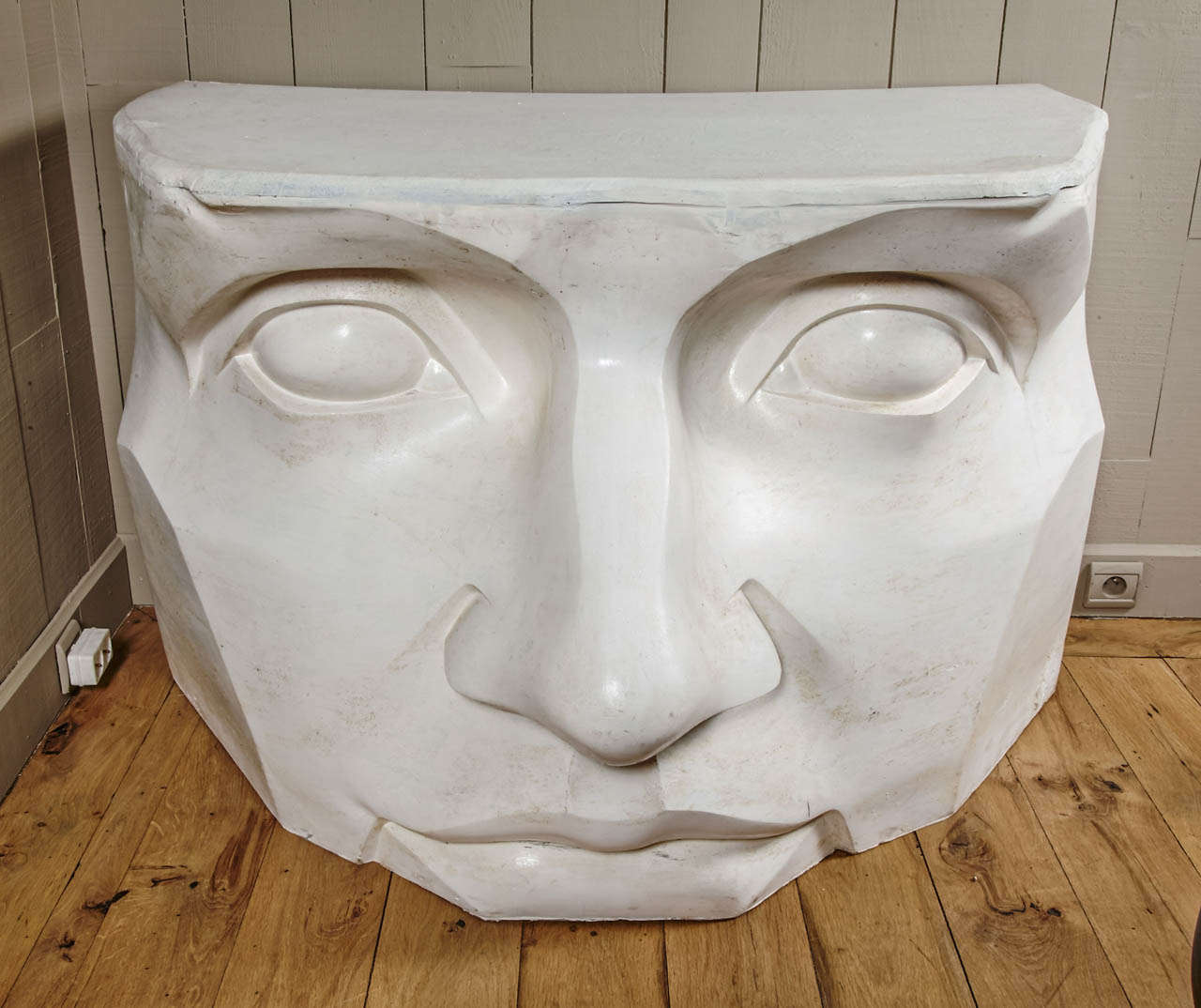 Fiberglass Console Table ~ Large console in fiberglass circa quot the mask at stdibs