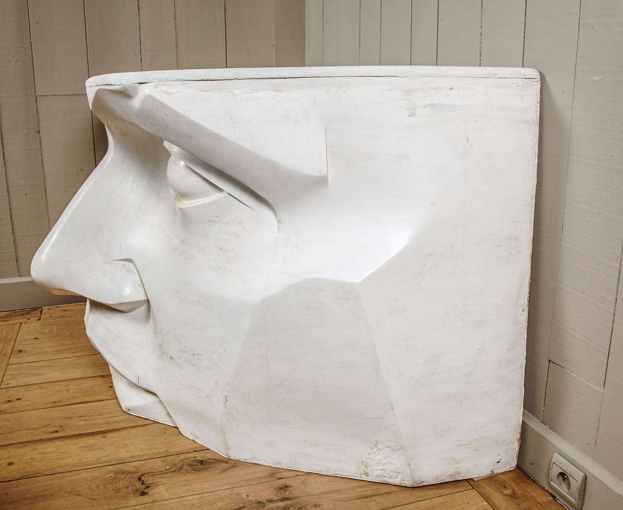 Large console in fiberglass circa quot the mask at stdibs