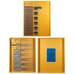 Tryptic Circuitry Board of a Church Organ, circa 1930