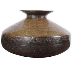 19th Century Brass Pot