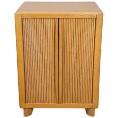 Heywood-Wakefield Tambour Door Cabinet