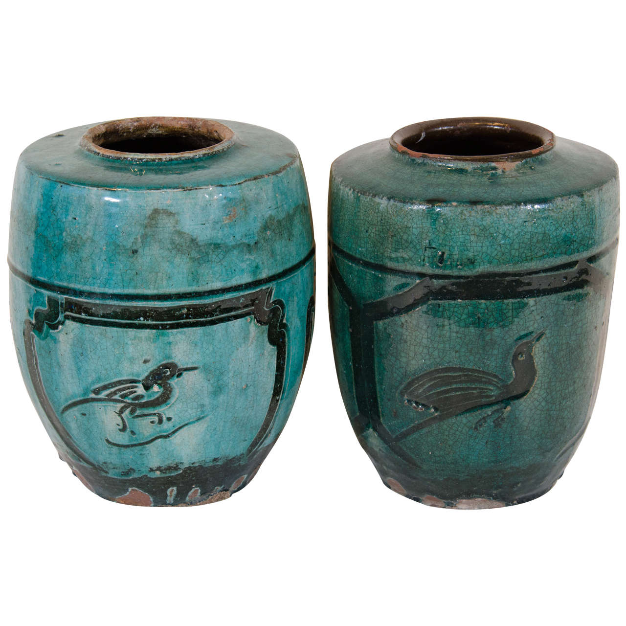 Antique Chinese Ceramic Jars