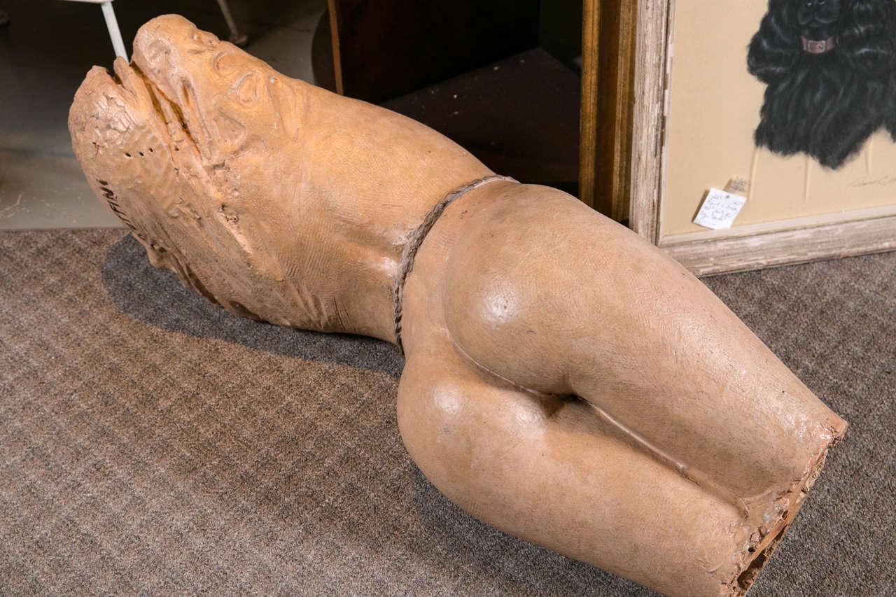 Mid-20th Century 1950s Nude Sculpture by Dante Ruffini For Sale
