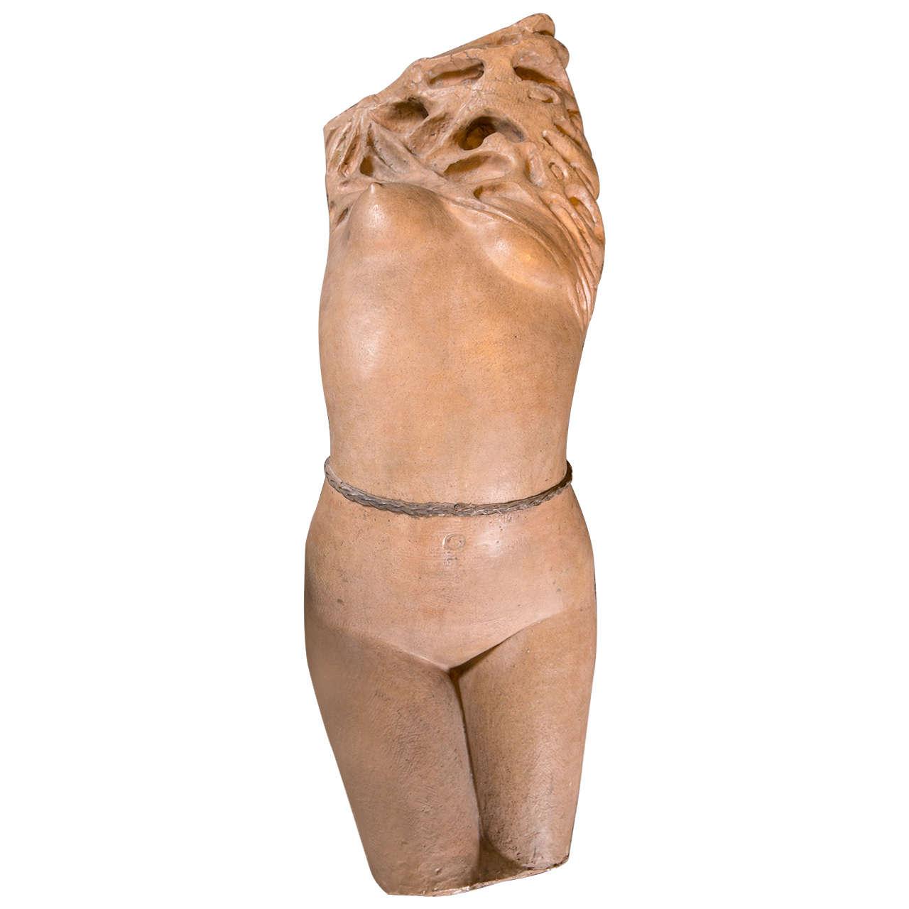 1950s Nude Sculpture by Dante Ruffini For Sale