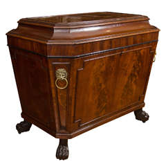 Early 19th Century George IV Mahogany Wine Cooler