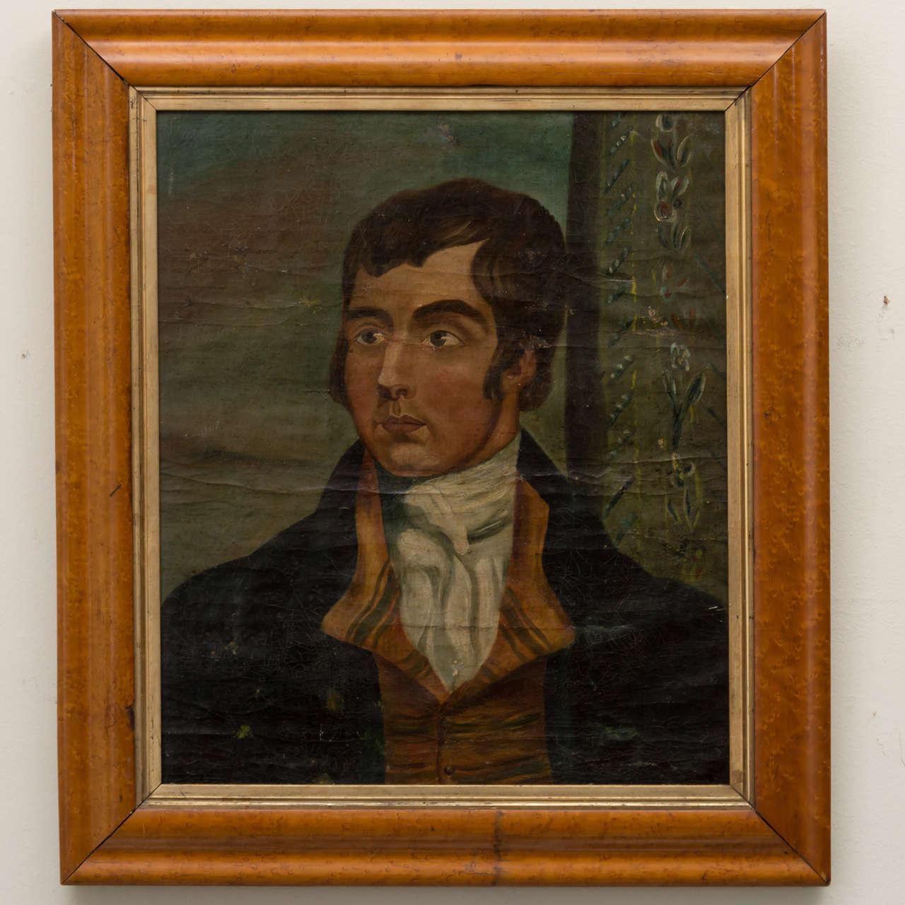 American Naïve Portrait of a Gentleman, circa 1830 2