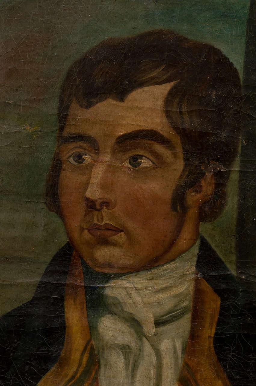 American Naïve Portrait of a Gentleman, circa 1830 3