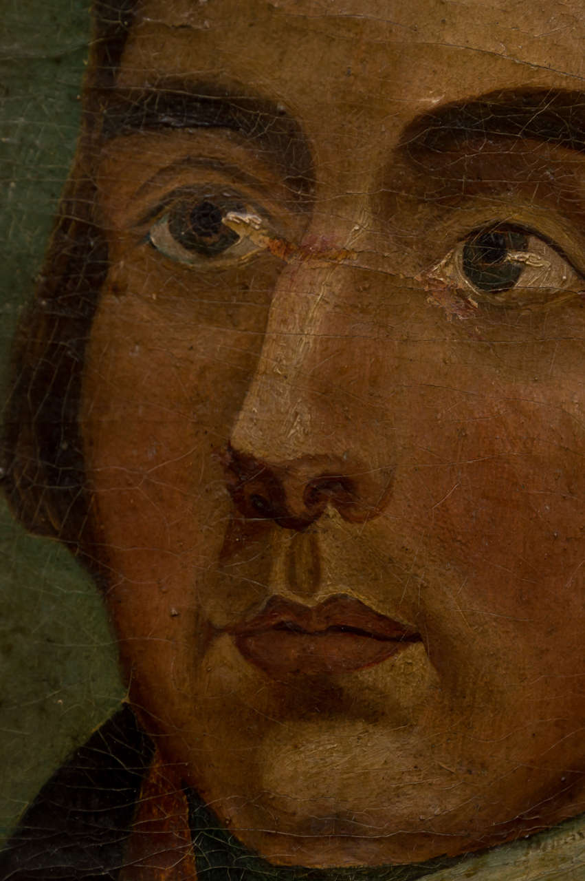 American Naïve Portrait of a Gentleman, circa 1830 5