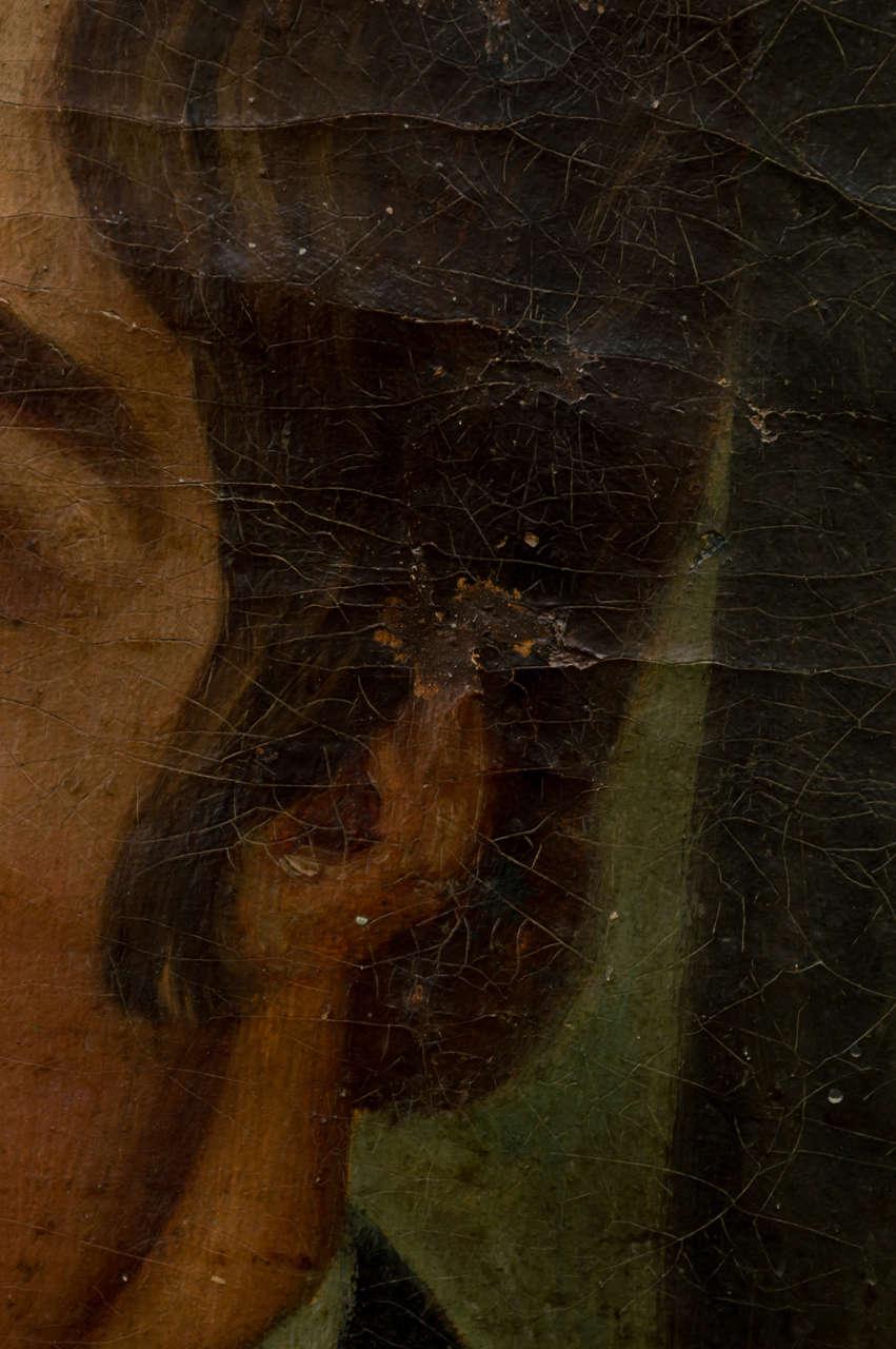 American Naïve Portrait of a Gentleman, circa 1830 6